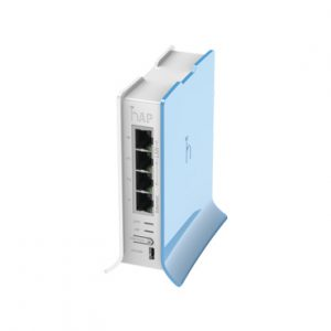 4 PUERTOS Fast Ethernet Wifi MIKROTIK RB941-2ND-TC