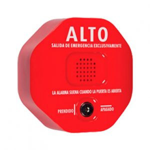Anunciador audible de salida de emergencia
