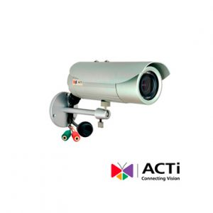 Cam IP BULLET ACTI D41A 1mp 2.8-12mm POE 720p IP66 WDR Audio