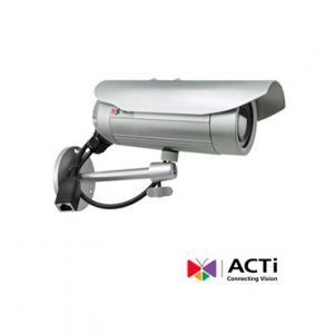 Cam IP BULLET ACTI E34A 3mp 3.6mm POE 30FPS 1080P IP66 WDR