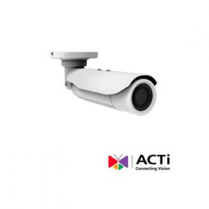 Cam IP BULLET ACTI E413 5mp 10x 4.9-49mm POE IP68