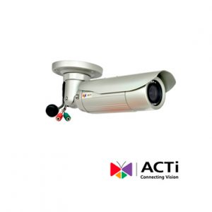 Cam IP BULLET ACTI E44A 2mp 2.8-12mm POE 30FPS 1080P IP68 WDR