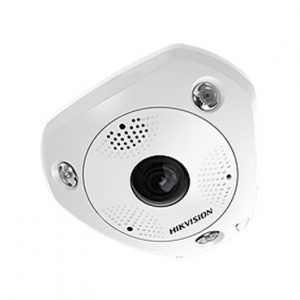 Camara Fisheye 3MP interior 180-360° WDR PTZ digital ranura para MicroSD