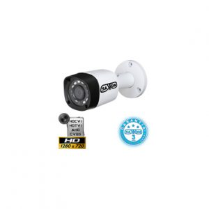 Camara de Bala HDCVI 1 MP lente 2.8 mm Smart IR 20 mts SAXXON BF2103TM