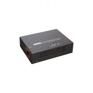 Extensor 100m PoE 802.3at 1 puerto 10-100-1000Mbps PLANET POE-E201
