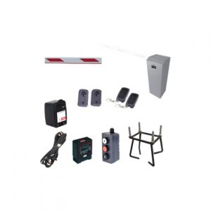 Kit de Barrera Vehicular completo brazo 3 mts ACCESPRO KIT-XBF-L