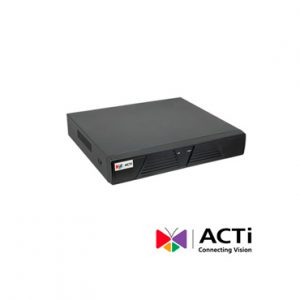 NVR POE 9 canales video ACTI ENR-020P HDMI 1dd