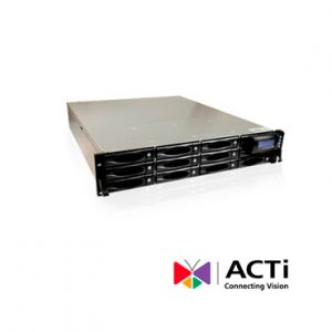 NVR hasta 200 canales video ACTI INR-440 HDMI 300mbps 8dd RACKMNT