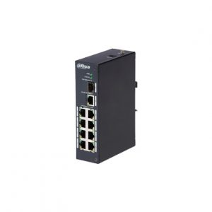 Redes Switch POE 8 puertos 1 puerto Uplink SFP 96W Switching 7.6G DAHUA PFS3110P96