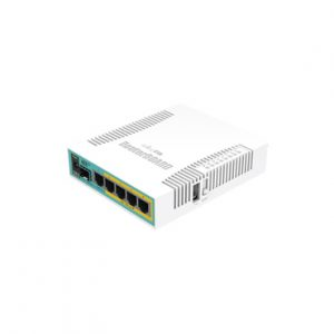 RouterBoard 5 puertos Gigabit Ethernet PoE 802.3at 1 puerto USB MIKROTIK RB960PGS