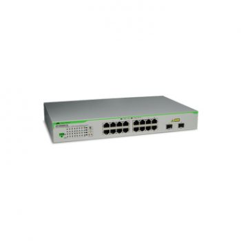 Switch Gigabit WebSmart 16 puertos 2 puertos SFP combo ALLIED TELESIS AT-GS950-16-10