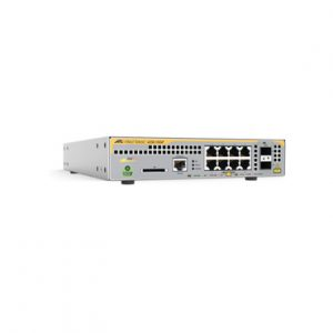Switch PoE+ administrable capa 3 8 puertos 2SFP ALLIED TELESIS AT-X230-10GP-10