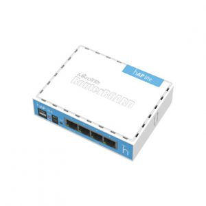 4 puertos Fast Ethernet MIKROTIK RB941-2ND