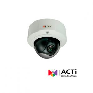Cam IP Ext PTZ ACTI B97A 10xZoom 3mp POE-DC IP67 WDR Superior