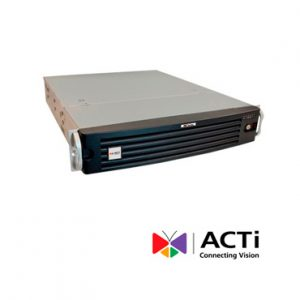 NVR hasta 200 canales video ACTI INR-410 HDMI 300mbps 8dd RACKMNT